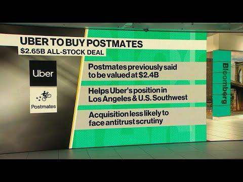 Uber Buys Postmates