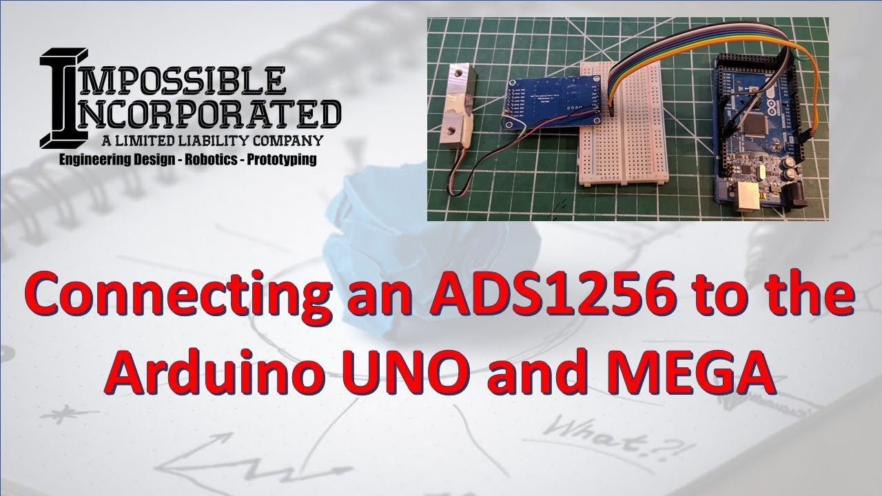 Connecting an ADS1256 to the Arduino UNO and MEGA