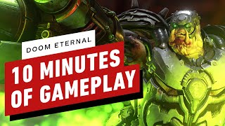 Doom Eternal - 10 Minutes of Intense Gameplay