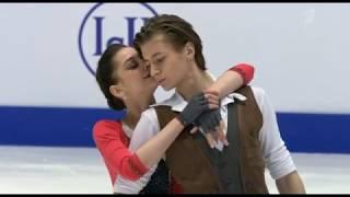 Елизавета Шанаева Дэвид Нарижный ЮЧМ 2020 Ритм танец
