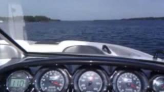 deerpoint lake in panama city on 2009 yamaha ar210