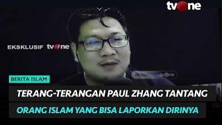 EKSKLUSIF!!! Jozeph Paul Zhang Tantang Orang Islam yang Bisa Laporkan Dirinya | religiOne