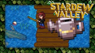 Steel watering can & fishing in Stardew Valley live stream #7