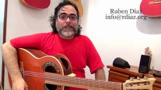 Weekly via Skype gives best results / Learning flamenco online /Paco de Lucia´s Style/ Ruben Diaz