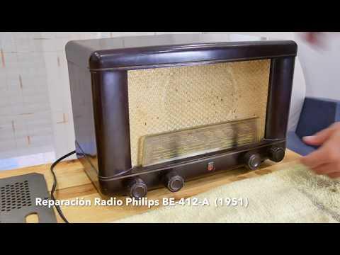 Reparación Radio antigua Philips BE412A