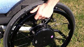 Neu Rollstuhl Zusatzantrieb Alber Twion 2017