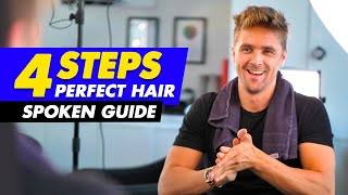 4 Steps to ACHIEVE The PERFECT HAIRSTYLE