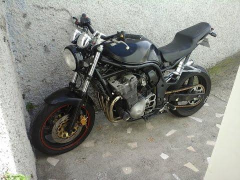 Suzuki Bandit 600 mk1 project part 2/now StreetFighter