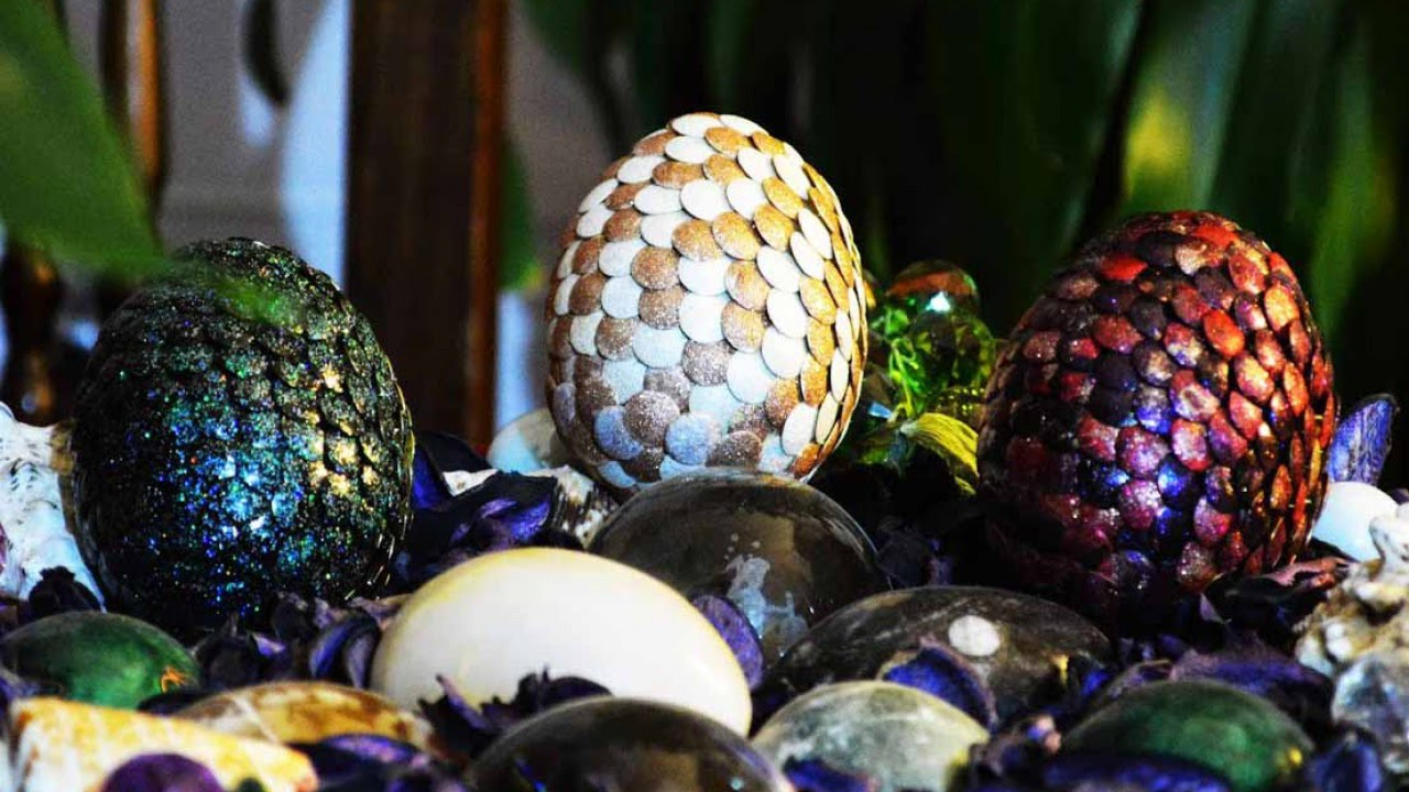 How To Create A Dragon Egg With Nail Polish Diy Crafts Tutorial Guidecentral Youtube