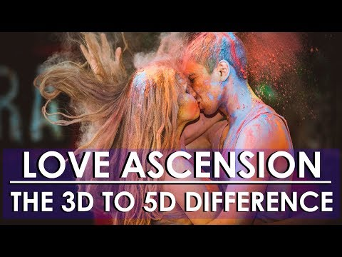 ** 3D TO 5D DIFFERENCE **  TWIN FLAME & SOULMATE : MULTIDIMENSIONAL LOVE