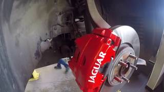 Refurbishing Calipers - Jaguar XF MY2012