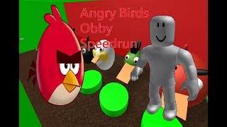 Angry Birds Obby Speedrun #1