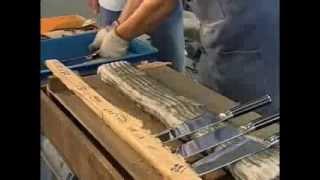 KAI Herstellung von Damastmesser aus Japan