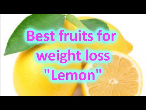 Lemon juice benefits - Best fruits for weight loss | By #Weight loss tips and tricks