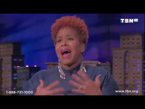 """Tina Campbell interview and singing """"Too Hard Not To"""" live on TBN's """"Praise"""""""