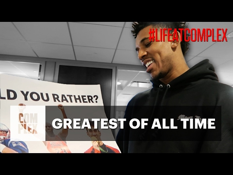 SWAGGY P CHOOSES THE ULTIMATE G.O.A.T. | #LIFEATCOMPLEX