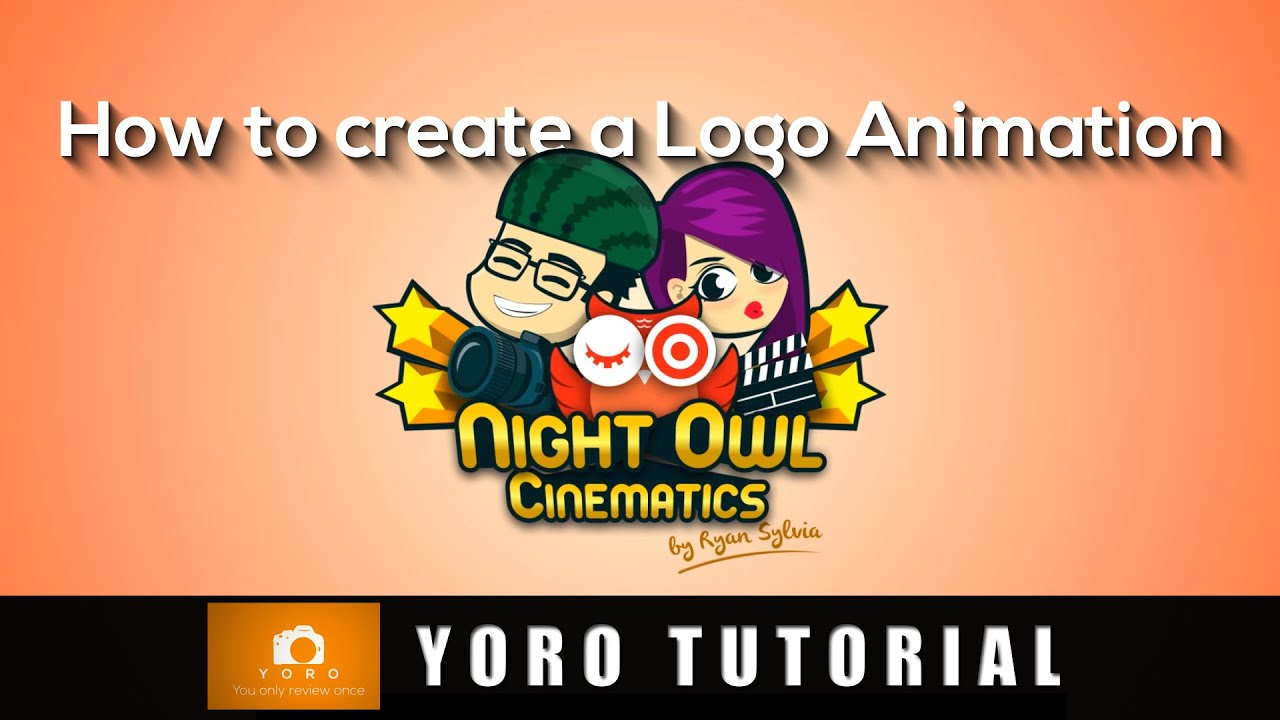 How To Create A Logo Animation For Youtube