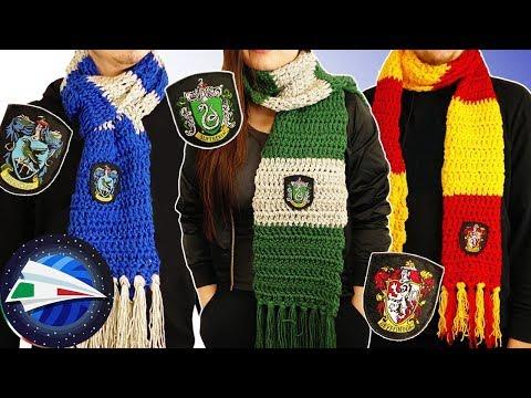 disponibilità nel Regno Unito 985d1 e0544 Sciarpe di Harry Potter Fai Da Te | Grifondoro, Serpeverde e ...