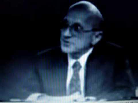Milton Friedman Debunks Liberal Economic Philosposhy