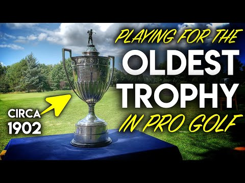 SHOOTING 64!!! Playing for the oldest trophy in pro golf!
