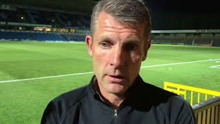 Dean Austin looks back on the Carabao Cup tie at Wycombe Wanderers.