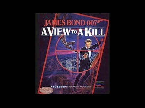 James Bond 007 In A View To A Kill Walkthrough/longplay (Apple II - Angelsoft/Mindscape)