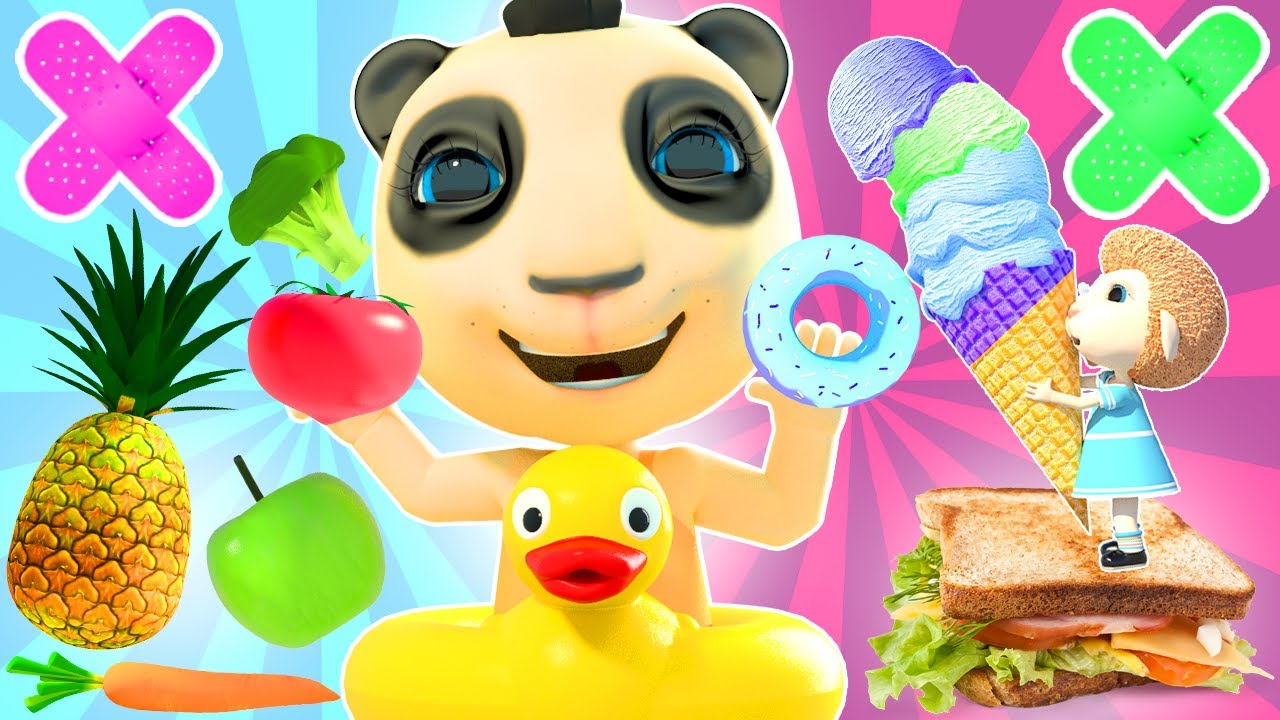 Baby Pretend Plays Good & Healthy Habits: Wash Your Hands, Brush Your Teeth, Yes Yes Vegetables!