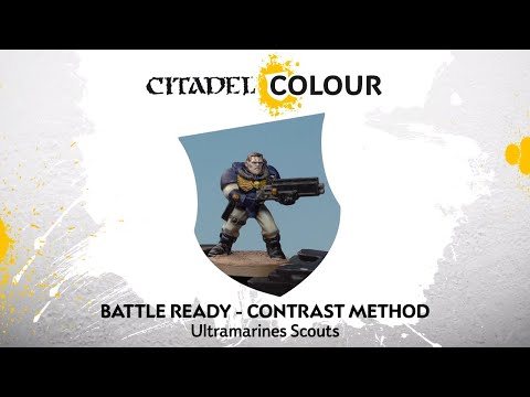 How to Paint: Battle Ready Ultramarines Scouts – Contrast Method