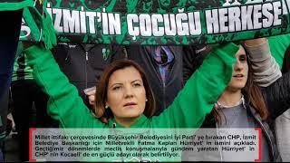 CHP İzmit Belediye Başkan Adayı Fatma Kaplan Hürriyet Oldu