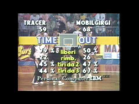 Tracer Milano – Mobilgirgi Caserta Finale Scudetto 1987