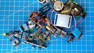 Обзор полезного набора датчиков для Arduino 16 в 1 sensor kit for arduino с Aliexpress