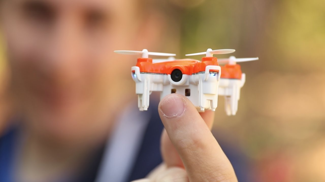 Worlds Smallest Camera Selfie Drone