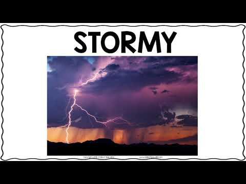 Lemonwood Elementary School - Types of Weather