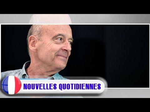 """Alain juppé: """"je ne suis pas en marche, mais je suis en mouvement"""""""