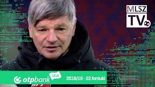 Edzői értékelések a Mol Vidi FC – Szombathelyi Haladás mérkőzésen