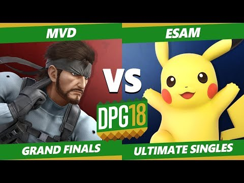 Smash Ultimate Tournament - PG | Esam [L] (Pikachu) Vs. PG | MVD (Snake) DPOTG18 SSBU Grand Finals