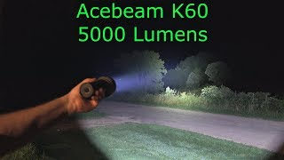 acebeam K60 Wicked 5000 Lumen Flashlight