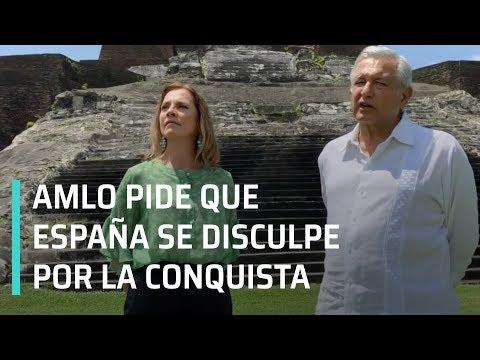 AMLO pide a España se disculpe por agravios durante la Conquista - A Las Tres