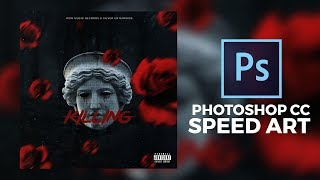 Mixtape Cover Trap - Photoshop CC (Speed Art)