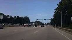 Driving Atlantic Blvd Jacksonville Fl Florida