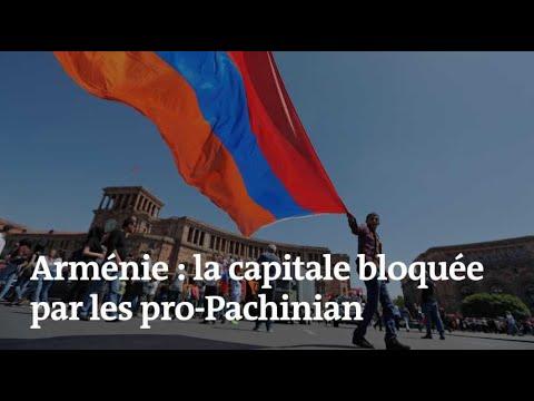 Crise politique en Arménie : des dizaines de milliers de manifestants bloquent la capitale