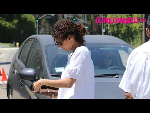 Gugu MbathaRaw Arrives To Jennifer Klein's Day Of Indulgence Party 8.14.16  TheHollywoodFix.com
