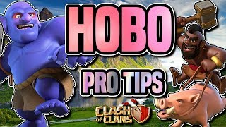 TH9 HOBO ATTACK STRATEGY GUIDE   PRO TIPS   Three Star War Attack   Clash of Clans