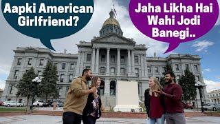 USA Ke DENVER Me Jab Apne Indian Subscriber Se Mila 🤗