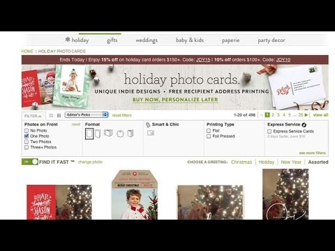 tech minute best online holiday card services youtube