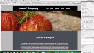 Adobe Muse CC Trick | 100% Page Width Slideshow