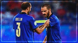 Chiellini X Bonucci 2021 ▬ Italian Wall ● Best Defensive Skills