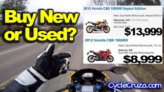 Buy New Or Used Motorcycle?