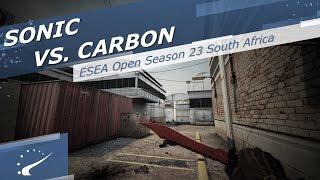 Sonic vs. carboN  - IESEA Open Season 23 South Africa