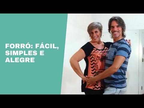 Como Aprender A Dançar Dança de salão básico para iniciantes Passos do Forró -  1 de 5